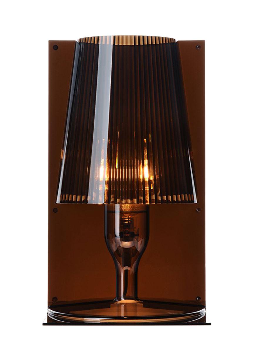 Illuminazione - Lampade da tavolo - Lampada da tavolo Take di Kartell - Fumé - policarbonato