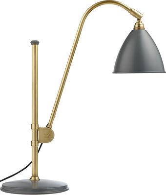 Lampe de table Bestlite BL1 / Réédition de 1930 - Gubi gris,laiton en métal