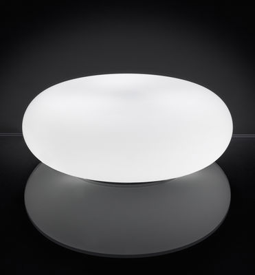 Lampe de table Itka Ø 35 cm - Danese Light blanc en métal
