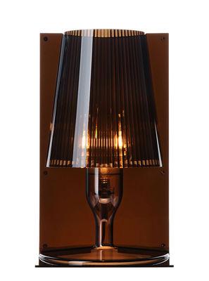 Lampe de table Take - Kartell fumé en matière plastique