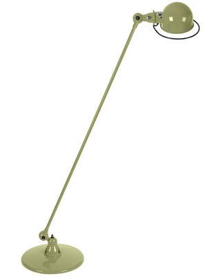 Liseuse Loft / 1 bras articulé - H 120 cm - Jieldé kaki brillant en métal