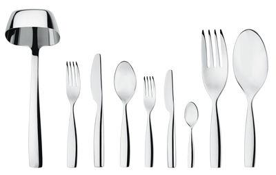 Arts de la table - Couverts de table - Ménagère Dressed / Coffret 75 Pièces - Alessi - 75 pièces - Acier - Acier inoxydable