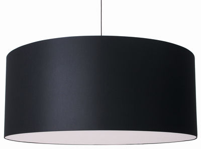 Lighting - Pendant Lighting - Round Boon Pendant by Moooi - Black - Cotton