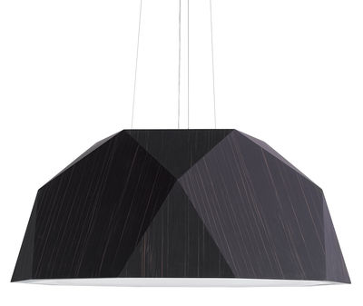Lighting - Pendant Lighting - Crio Pendant - Ø 115 cm by Fabbian - Wenge - Wengé tinted plated aluminium