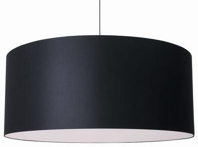 Lighting - Pendant Lighting - Round Boon Pendant by Moooi - Black - Cotton