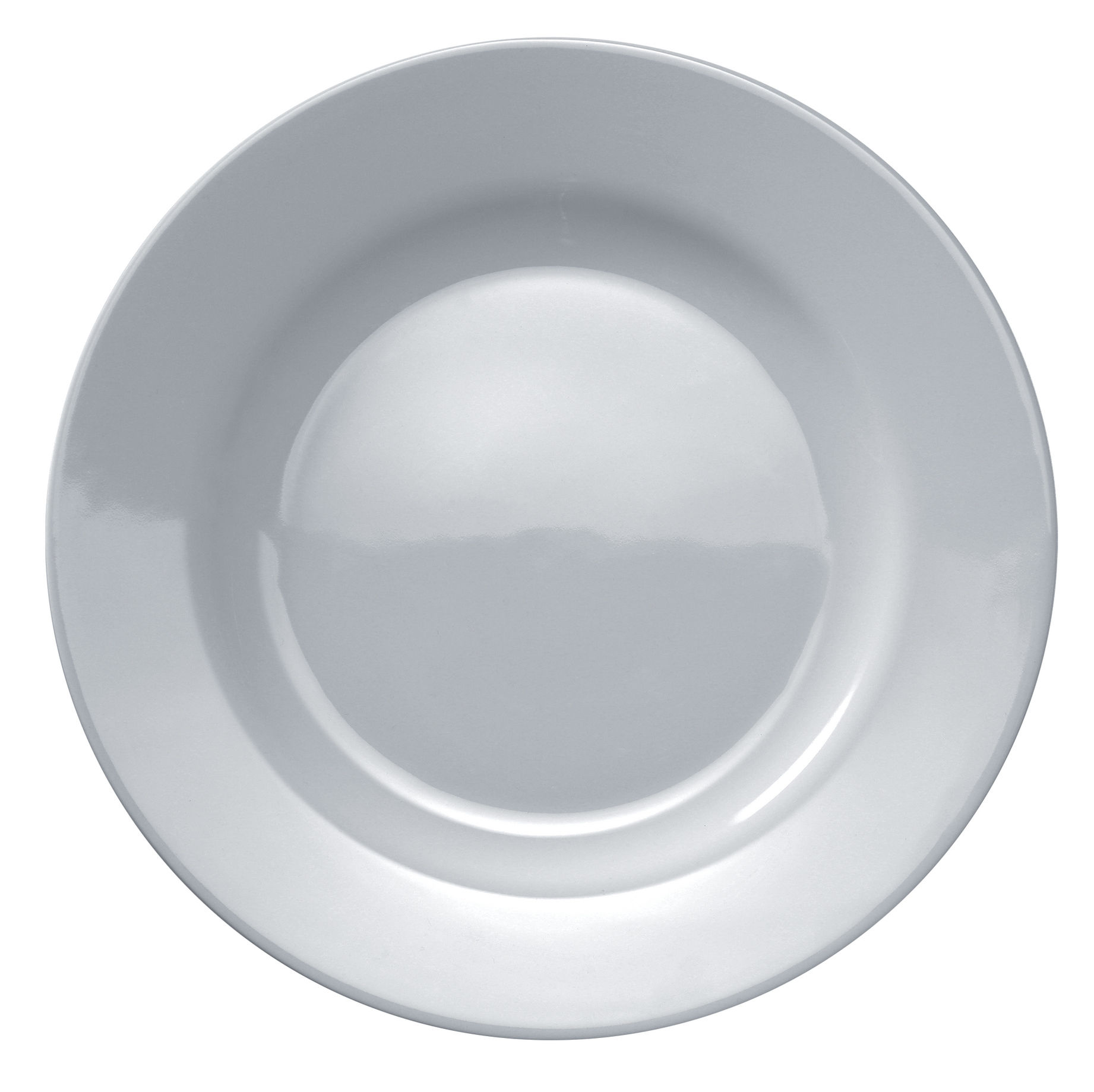 Tavola - Piatti  - Piatto Platebowlcup di A di Alessi - Bianco - Porcellana