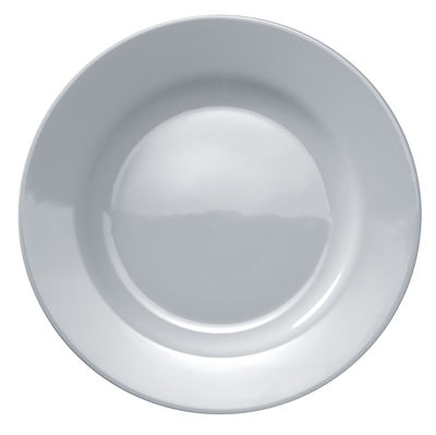 Tableware - Plates - Platebowlcup Plate by A di Alessi - White - China