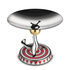 The Seal Presentation dish - / Circus - Limited, numbered edition by Alessi