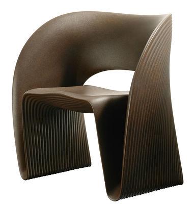 Raviolo Sessel / Kunststoff - Magis - Braun