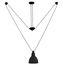 Sospensione Acrobate N°328 - / Lampada Gras - 1 paralume rotondo metallo di DCW éditions
