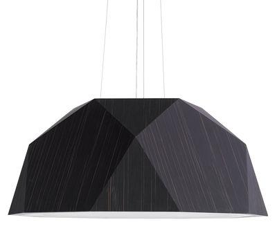 Illuminazione - Lampadari - Sospensione Crio - Ø 115 cm di Fabbian - Wengé - Alluminio rivestito wengé