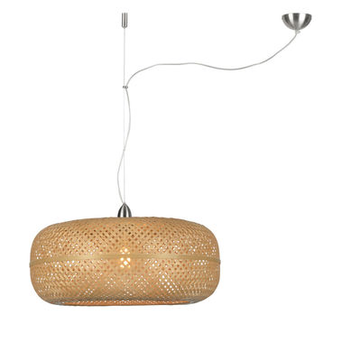 Illuminazione - Lampadari - Sospensione Palawan - / Bambù - Ø 60 cm di GOOD&MOJO - Naturale - Bambù