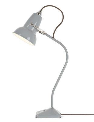 Leuchten - Tischleuchten - Original 1227 Mini Tischleuchte / feststehender Arm - H 52 cm - Anglepoise - Taubengrau - Gusseisen, Stahl