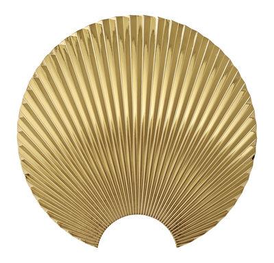 Arredamento - Appendiabiti  - Appendiabiti Concha - / Zamak - L 6,8 x H 23,5 cm di AYTM - Oro -  Zamak