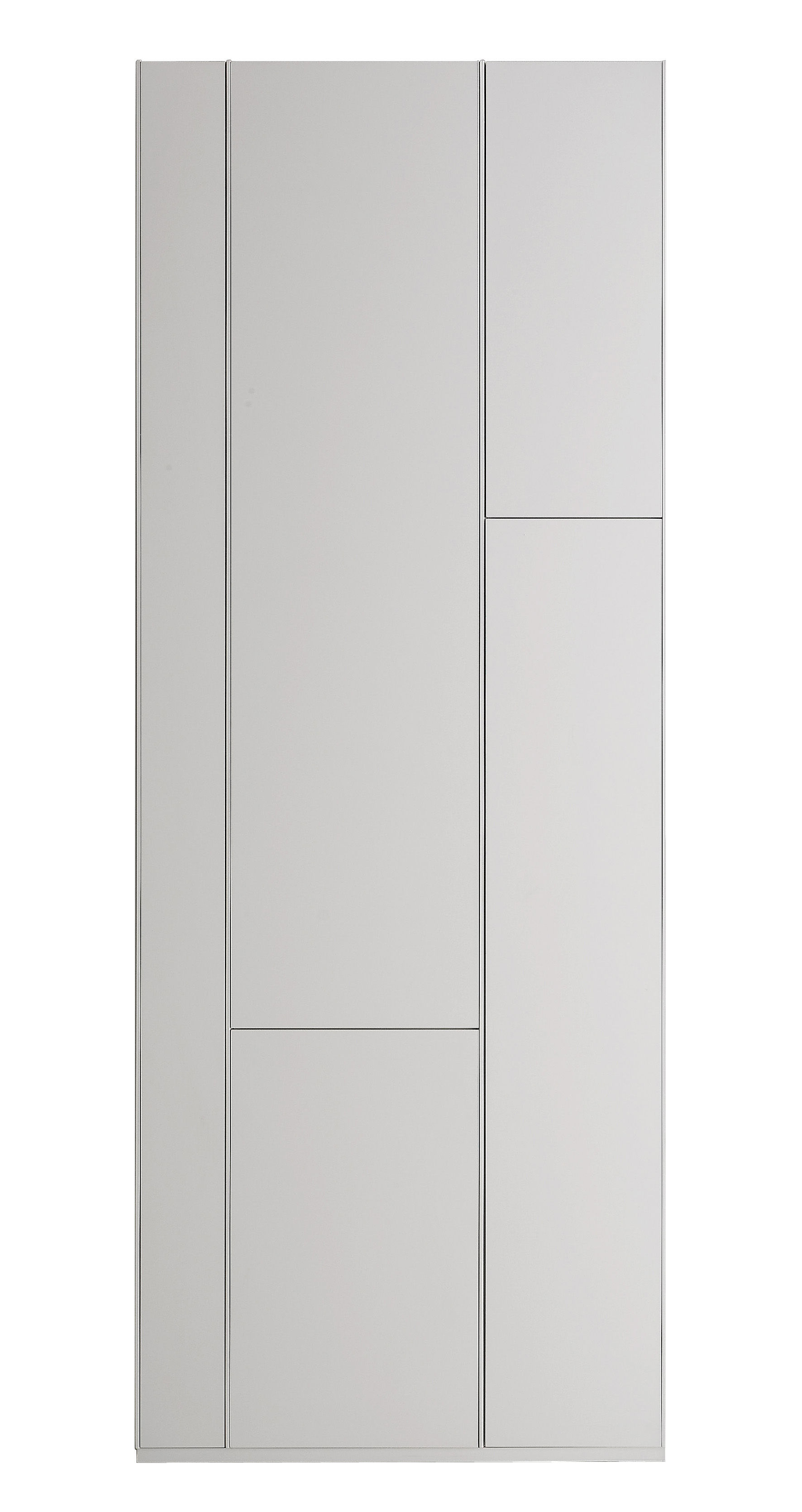 Furniture - Bookcases & Bookshelves - Random Cabinet Bookcase - Storage unit / Bookcase by MDF Italia - White lacquered - Lacquered wood fibre