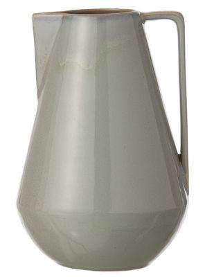 Tavola - Caraffe e Decantatori - Caraffa Neu Large - / Ø 15 x H 22 cm di Ferm Living - Grigio - Ceramica smaltata