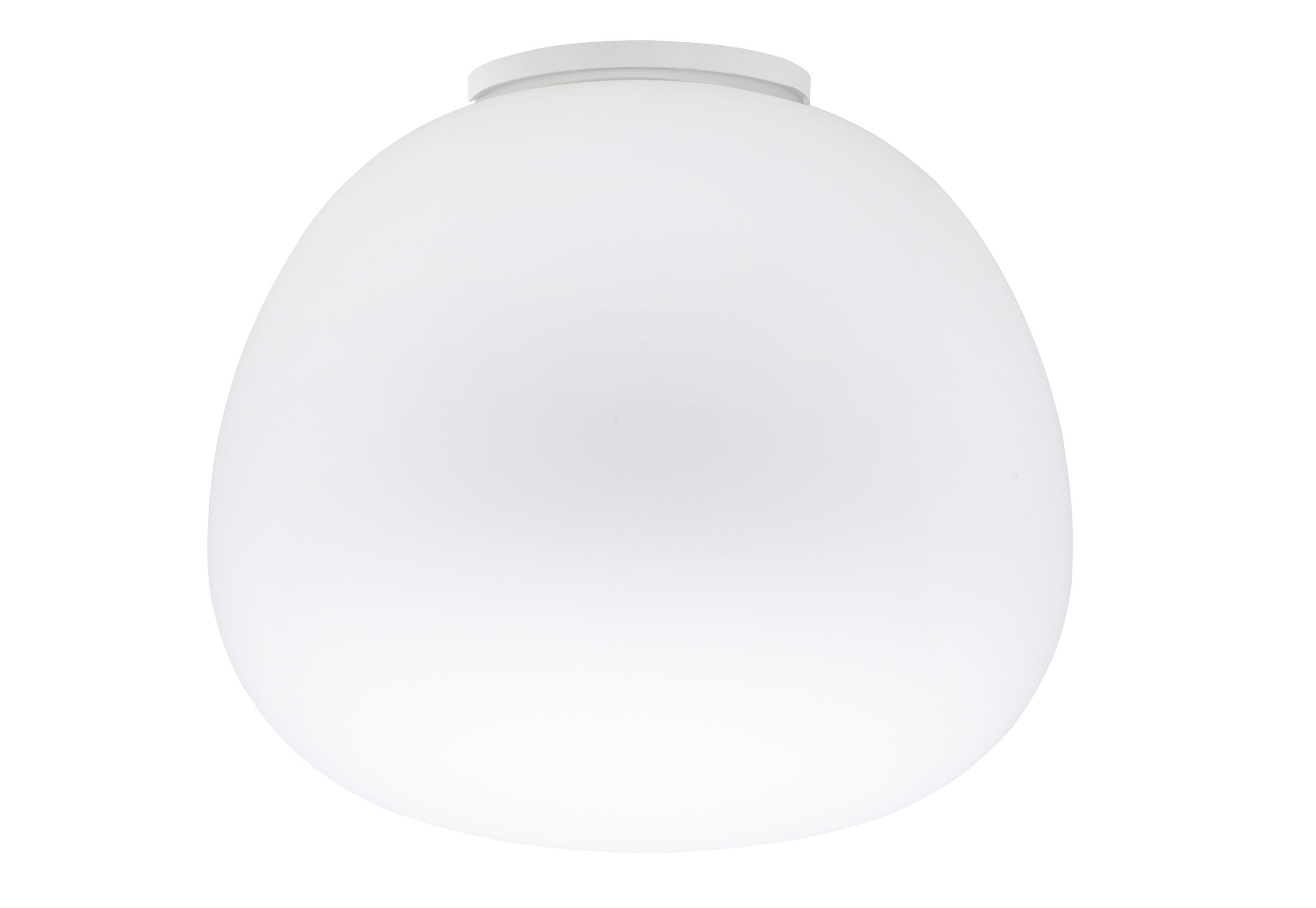 Lighting - Ceiling Lights - Mochi Ceiling light - Ø 45 cm by Fabbian - White - Ø 45 cm - Glass