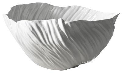 Centre de table Adelaïde III / 46 x 40 cm - Driade Kosmo blanc en céramique