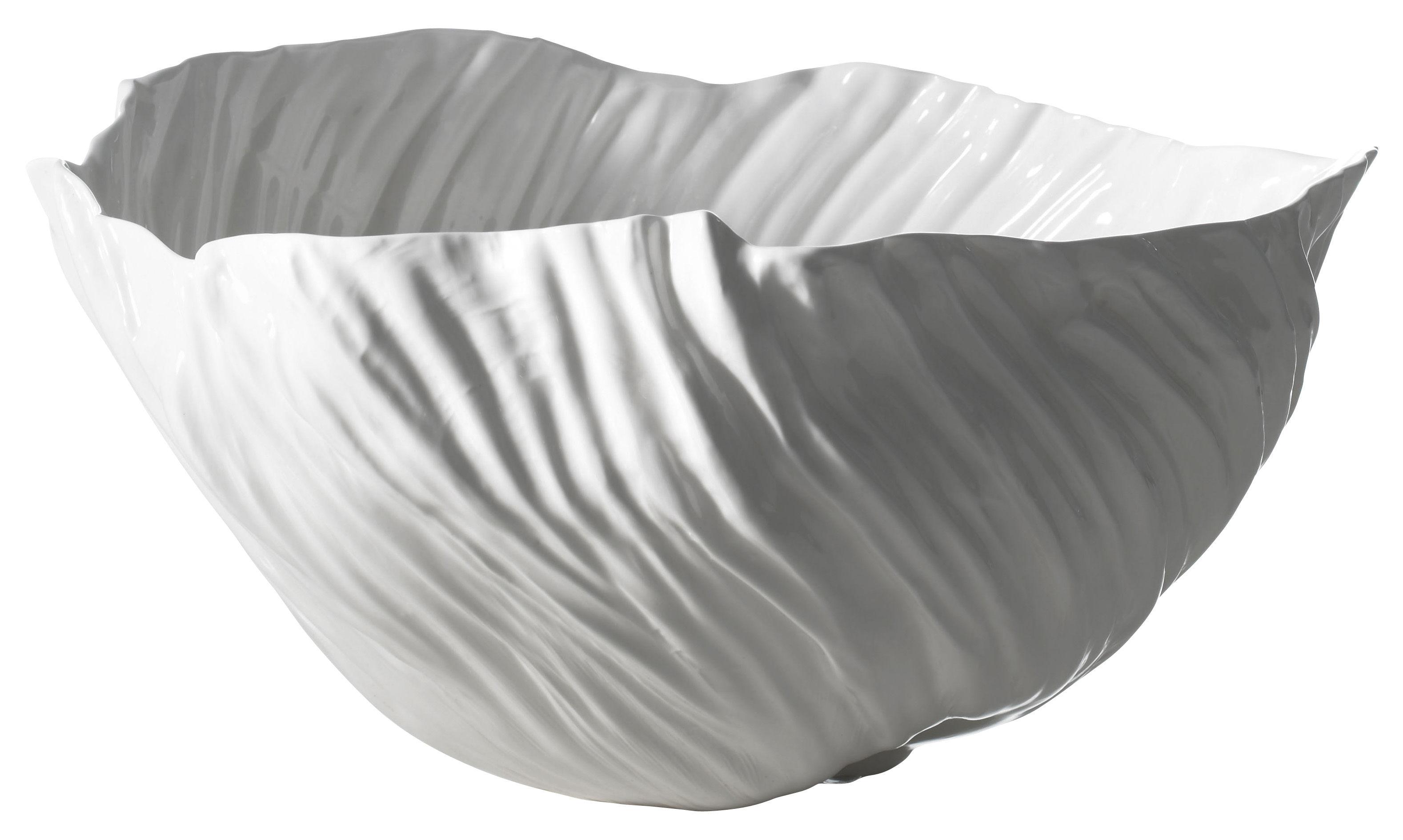 Tavola - Cesti, Fruttiere e Centrotavola - Centrotavola Adelaïde III di Driade Kosmo - Bianco - Porcellana Bone China