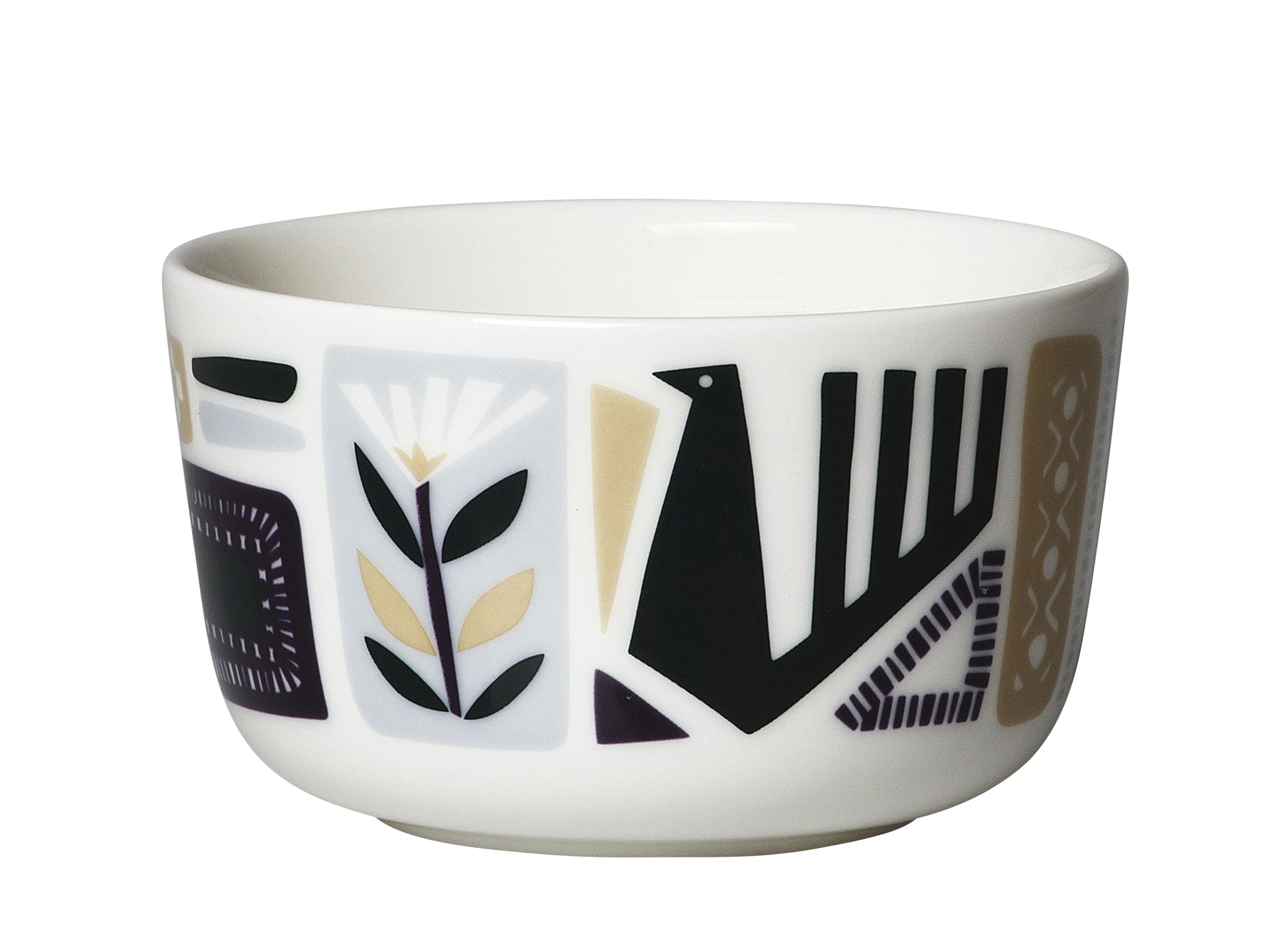 Tavola - Ciotole - Ciotola Svaale - / Ø 9,5 cm di Marimekko - Svaale / Multicolore - Gres