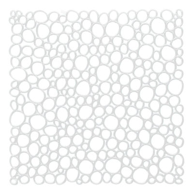 Mobilier - Paravents, séparations - Cloison Oxygen / Set de 4 - Crochets inclus - Koziol - Transparent - Polycarbonate
