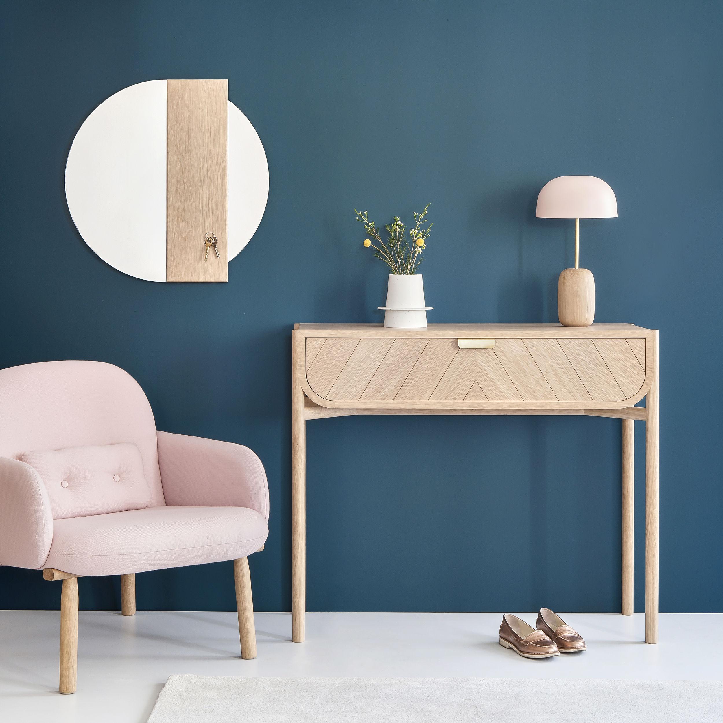 console marius avec tiroir l 100 cm ch ne naturel hart made in design. Black Bedroom Furniture Sets. Home Design Ideas