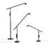 Lampe de table Fifty-Fifty / Orientable - H 60 cm - Hay