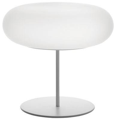 Luminaire - Lampes de table - Lampe de table Itka - Danese Light - Blanc - Métal, Verre
