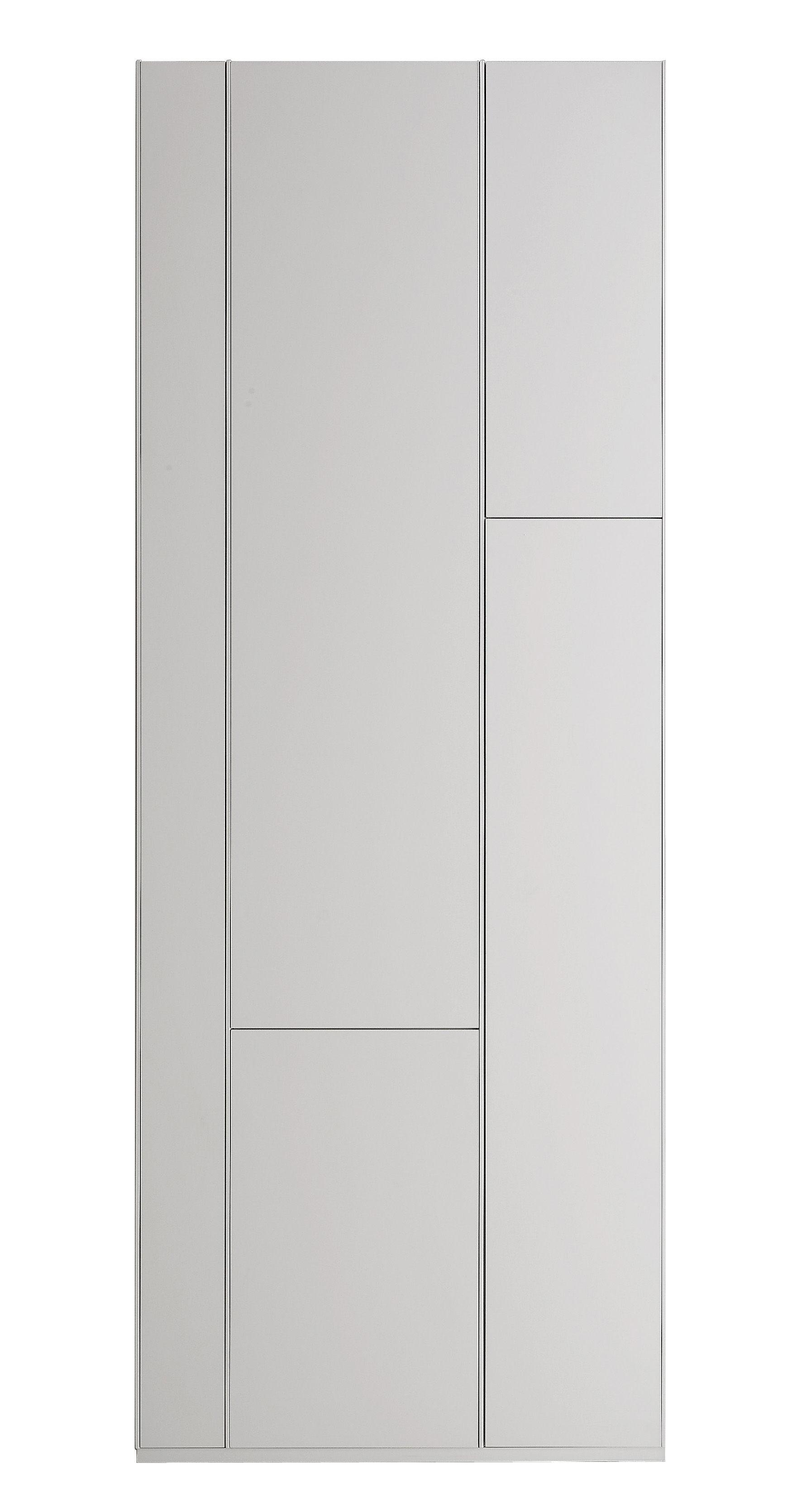 Arredamento - Scaffali e librerie - Libreria Random Cabinet di MDF Italia - Laccato bianco - Fibra di legno laccata