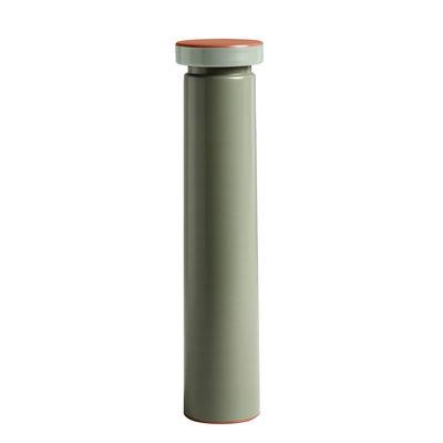 Portauova - Saliere e Pepiere - Macina spezie Sowden Large - / H 26 cm - Sale & pepe - Metallo di Hay - Verde - Acciaio inossidabile, Ceramica, Polipropilene