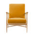 Floating Padded armchair - / Fabric - Oak structure by RED Edition