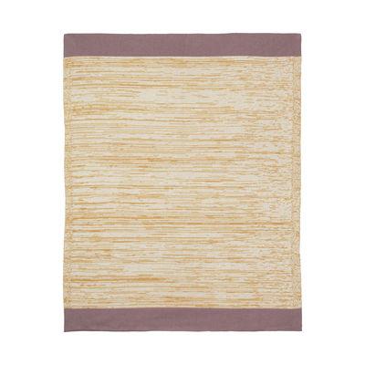 Plaid enfant Dusty Rainbow / 80 x 100 cm - Ferm Living jaune en tissu