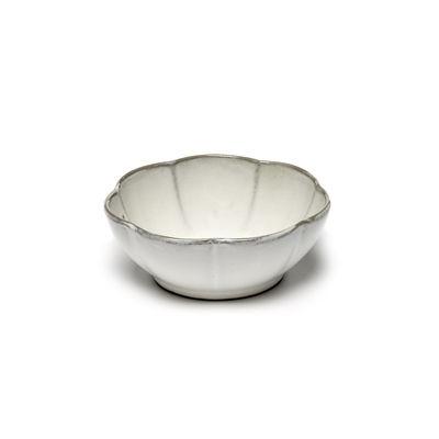 Tableware - Bowls - Inku Small dish - / Ø 13 x H 5 cm- Stoneware by Serax - White - Enamelled sandstone