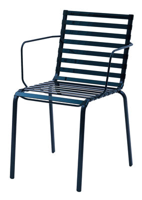 Striped Stapelbarer Sessel - Magis - Blau