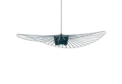 Suspension Vertigo Large / Ø 200 cm - Petite Friture vert-bleu en matière plastique