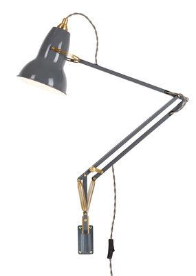 Applique avec interrupteur Original 1227 Laiton / Bras articulé - Anglepoise laiton,gris éléphant en métal