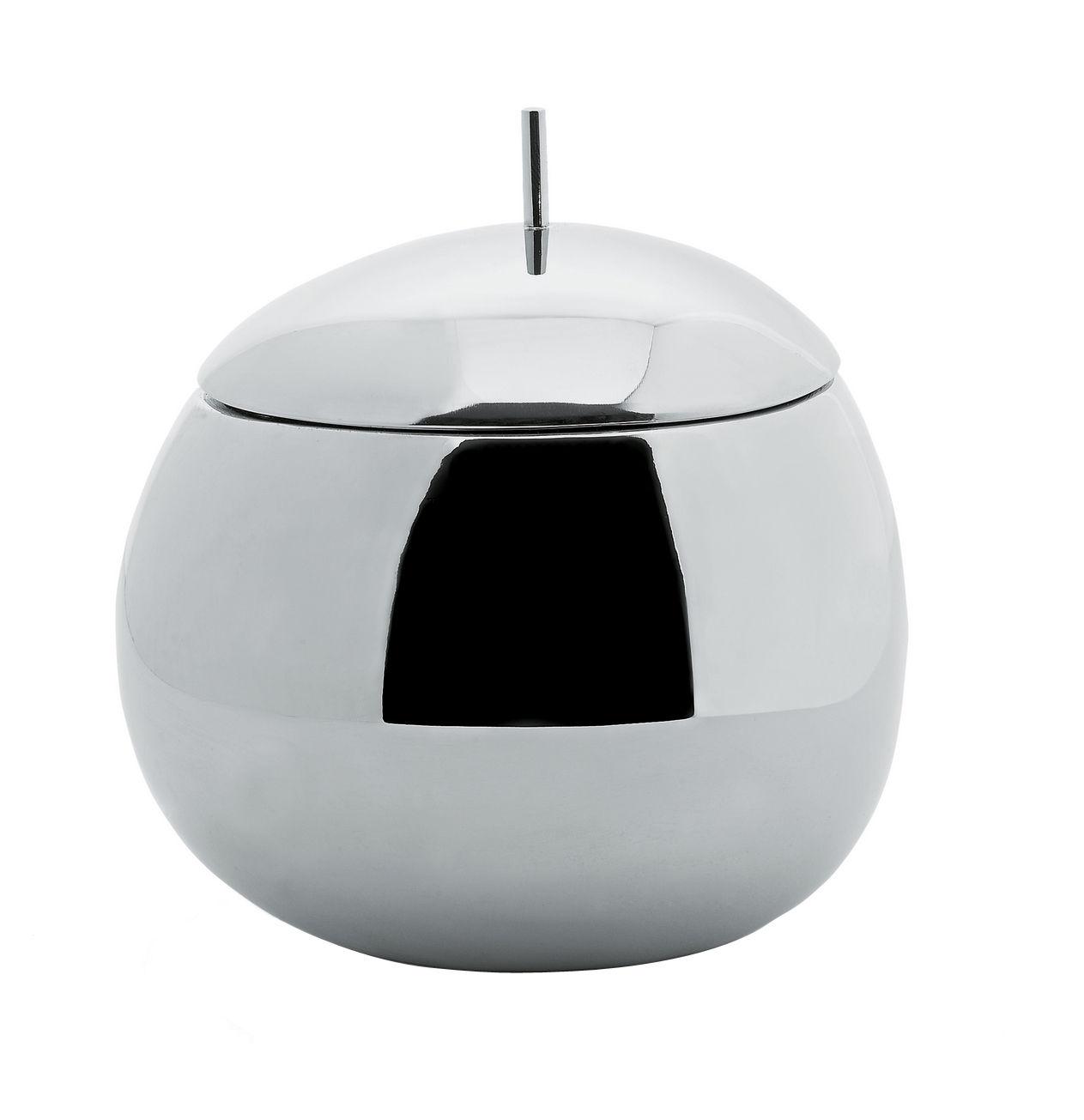 Arts de la table - Boites et pots - Boîte Fruit basket - Alessi - 75 cl. - Acier inoxydable