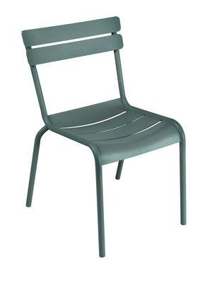 Life Style - Chaise empilable Luxembourg / Aluminium - Fermob - Cédre - Aluminium laqué