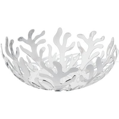 Corbeille Mediterraneo / Ø 29 cm - Alessi blanc en métal