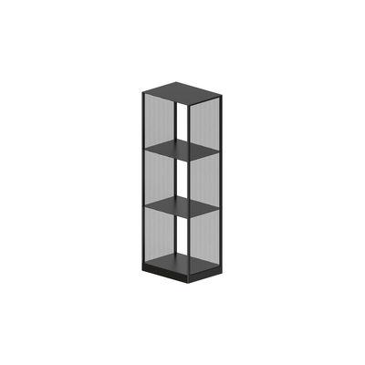 Mobilier - Etagères & bibliothèques - Etagère Tristano Small / H 116 cm - Zeus - Noir cuivré sablé - Acier