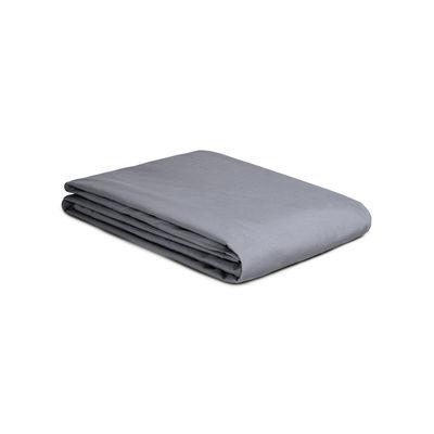 Housse de couette 140 x 200 cm / Percale lavée - Au Printemps Paris gris en tissu