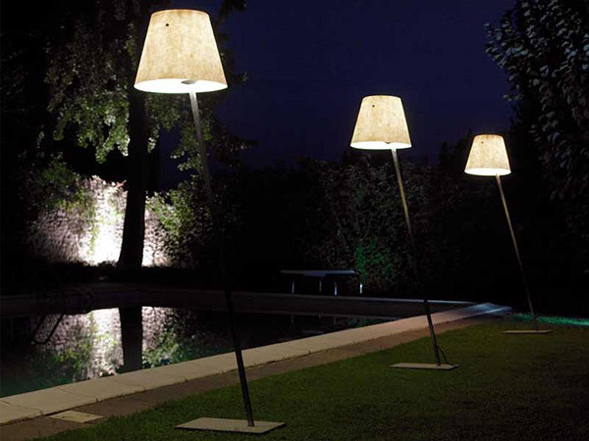 Miami f lampada a stelo Écru by antonangeli made in design