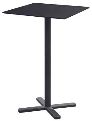 Mange-debout pliant Darwin / 70 x 70 cm - Emu gris/noir/métal en métal