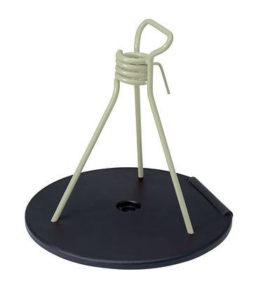 Pied de parasol Zébulon / Universel - Fermob tilleul,réglisse en métal