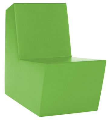 Arredamento - Mobili per bambini - Poltrona bambini Minus Primary Solo di Quinze & Milan - Verde certosa - Schiuma di poliuretano