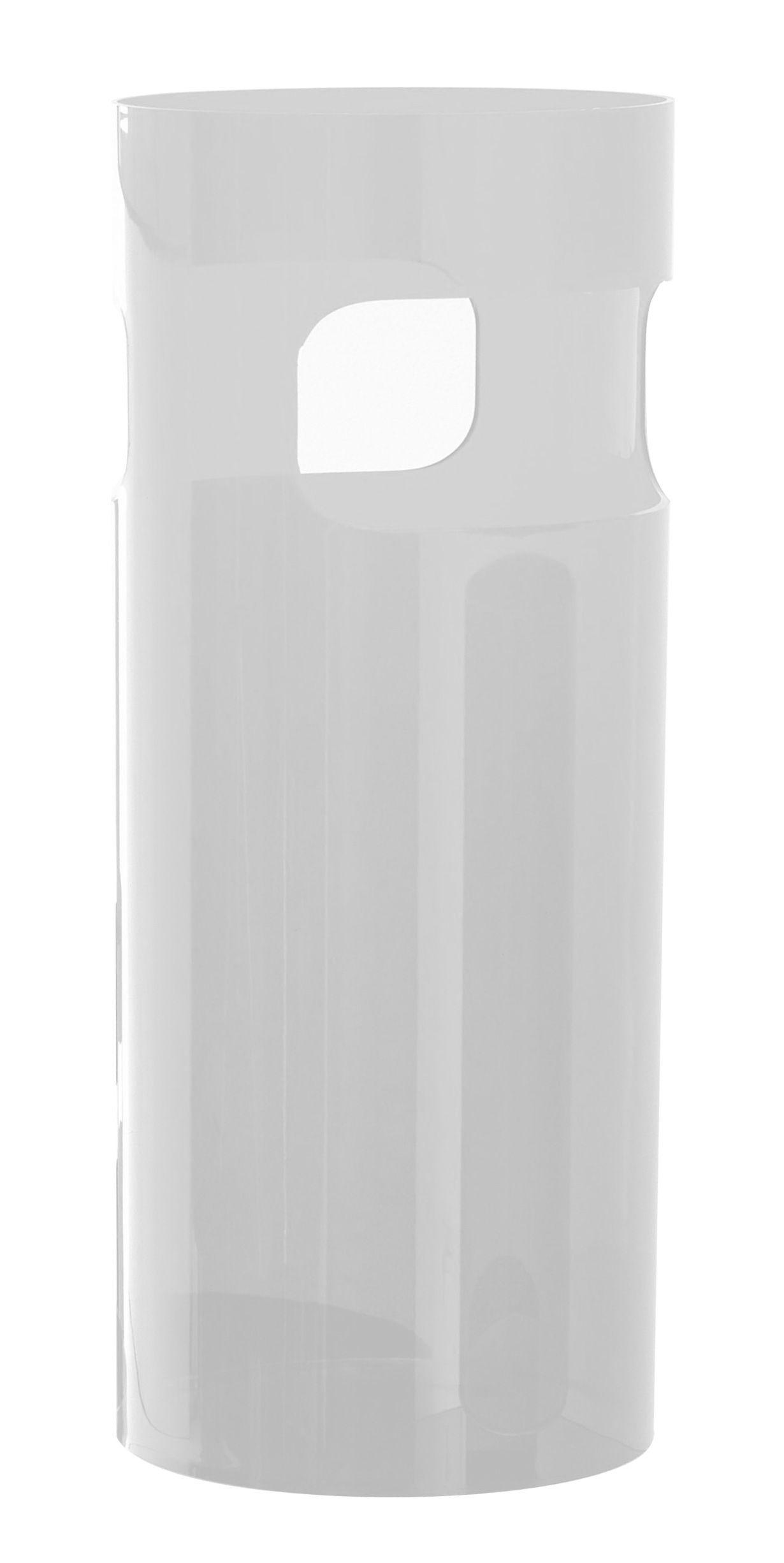 Déco - Paniers et petits rangements - Porte-parapluies - Kartell - Blanc opaque - ABS