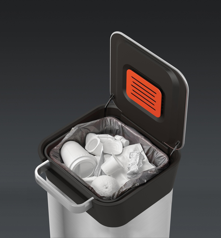 poubelle p dale titan slim compacteur 20 60 litres. Black Bedroom Furniture Sets. Home Design Ideas