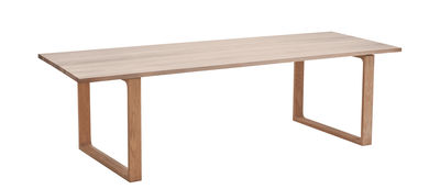 Furniture - Dining Tables - Essay Rectangular table - 190 x 100 cm by Fritz Hansen - Natural oak - Oiled solid oak