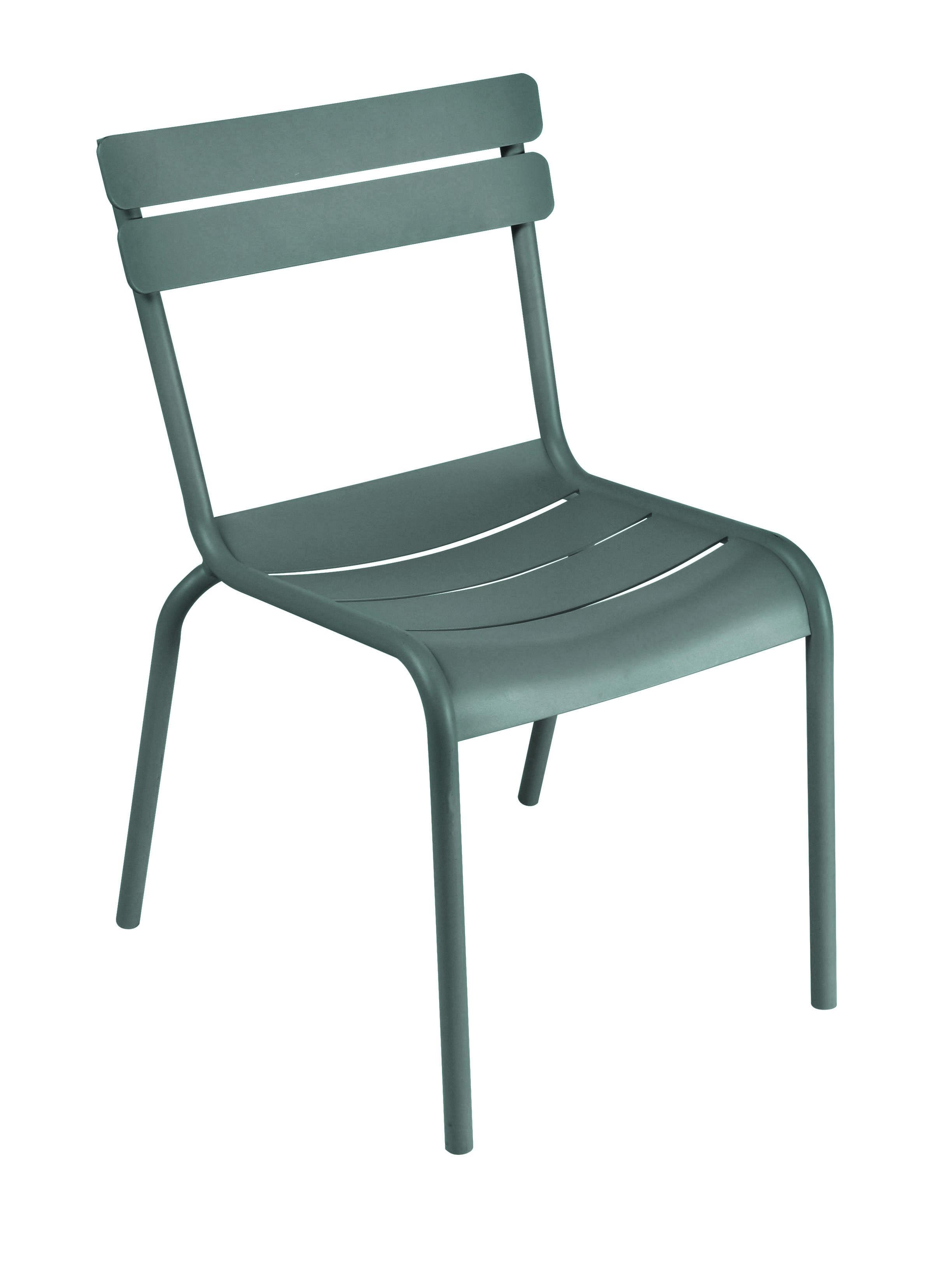 Life Style - Sedia impilabile Luxembourg di Fermob - Cedro - Alluminio laccato
