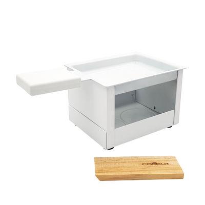 Set Yeti / Pour raclette à la bougie - 1 personne - Cookut blanc en métal